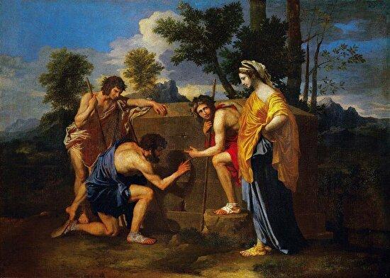 Arkadyalı Çobanlar, Poussin