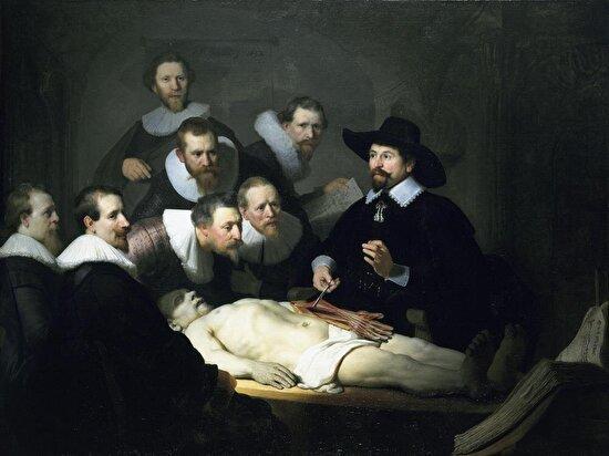 Dr. Nicolaes Tulp'un Anatomi Dersi, Rembrandt