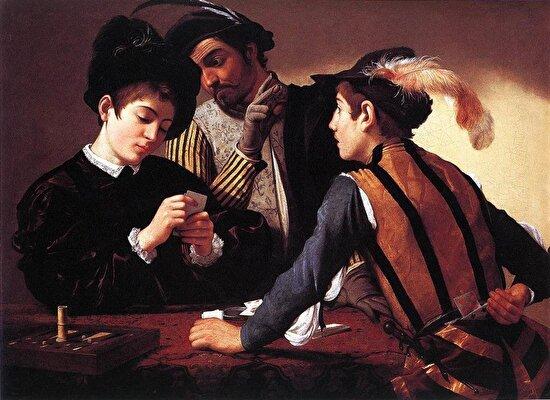 Hilebazlar, Caravaggio