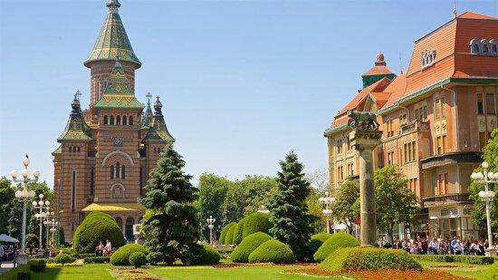 Timişoara Orthodox Cathedral, Romanya