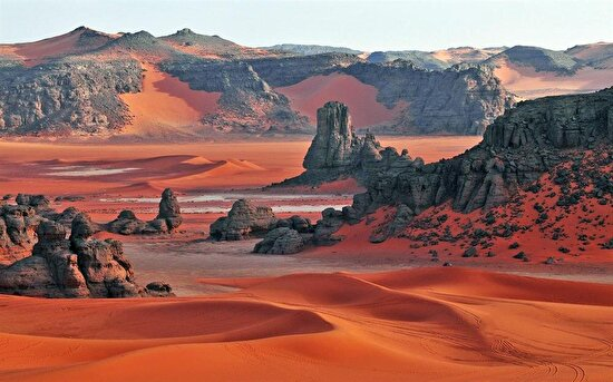 Tadrart Rouge, Cezayir