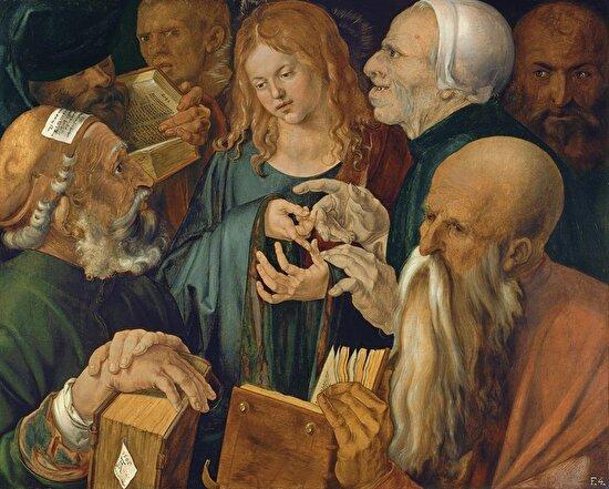 İsa ileri gelenler arasında, Albrecht Dürer