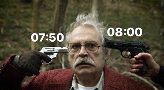 Alarmı erteliyorum