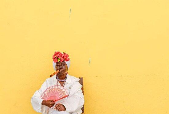 Havana'da yerel halk...