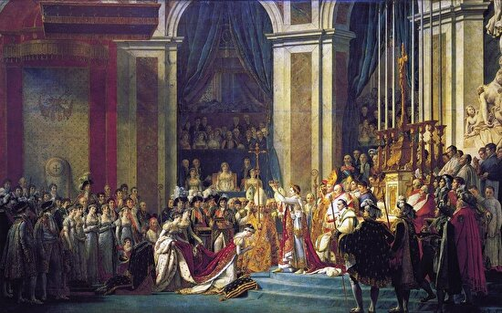 """Napolyon'un Taç Giyme Töreni"", Jacques-Louis David, 1805-1807"