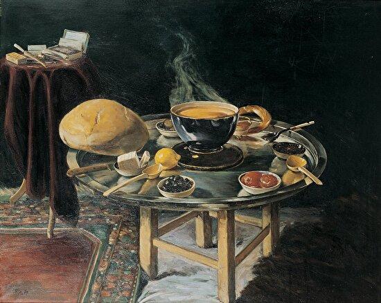 İftar Sofrası, Hoca Ali Rıza, 1919