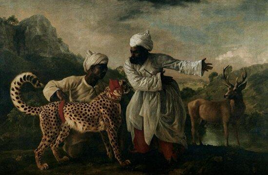 İki Hintli ve Bir Geyik, George Stubbs