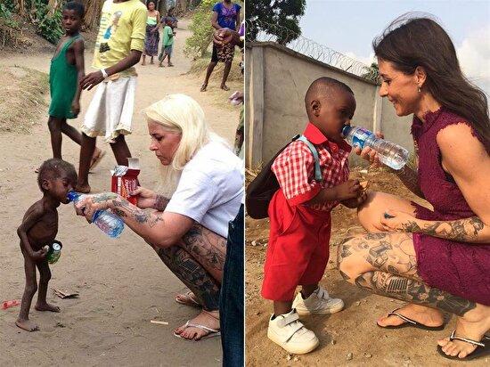 Danimarkalı yardımsever tarafından kurtarılan çocuğun okuldaki ilk günü