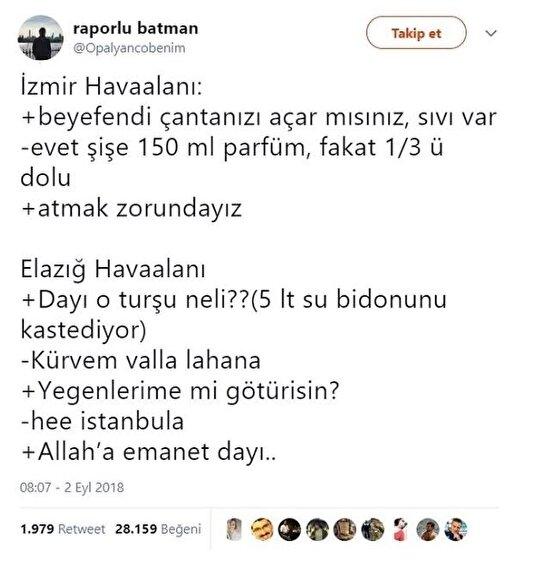 İzmir mi Elazığ mı tarafını seç yolculuğunu yap