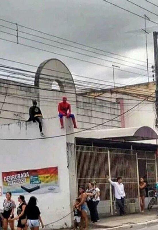 Süper kahramanlar da yorulur