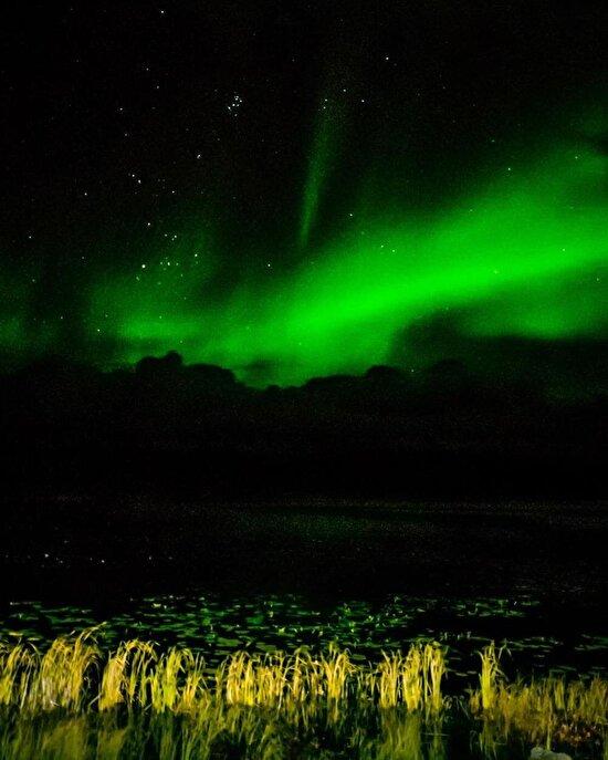 Kuzey ışıklarının en net görüntülerinden