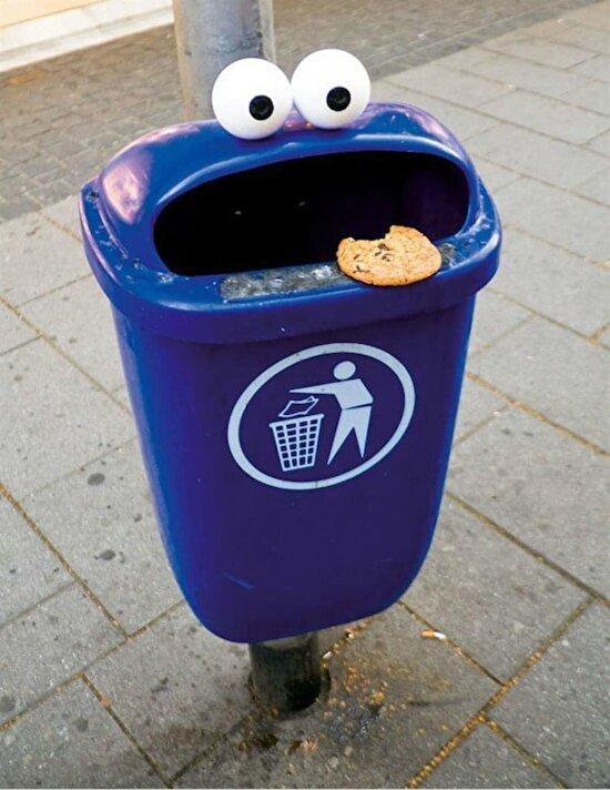 Yemediğiniz kurabiyelerinizi buraya atıyorsunuz bundan sonra