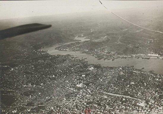 İstanbul'un havadan görünüşü. 1925