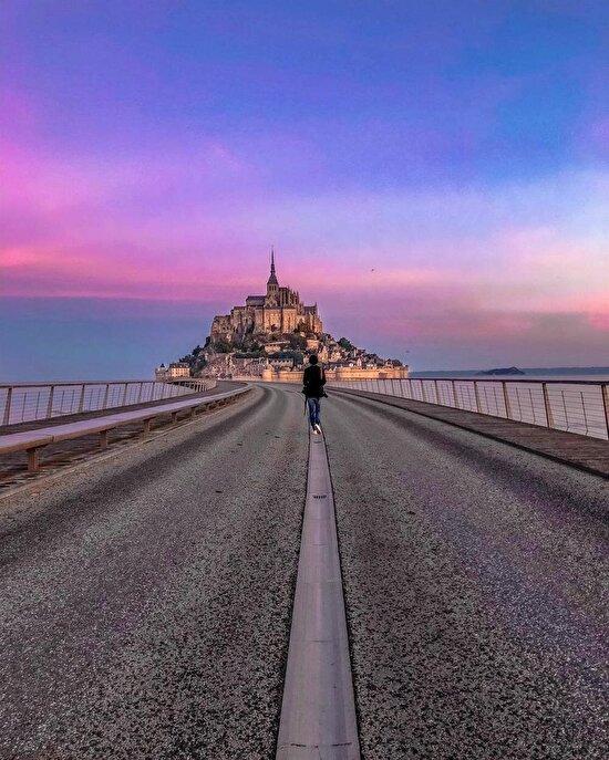 Mont Saint-Michel, Fransa