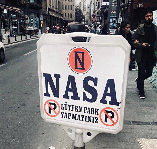 Roket harici park yapmak yasaktır