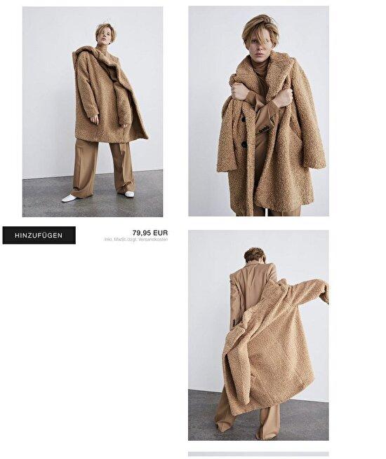 Abla şu ceketi düzgün giyseydin de modelini mi görseydik acaba?