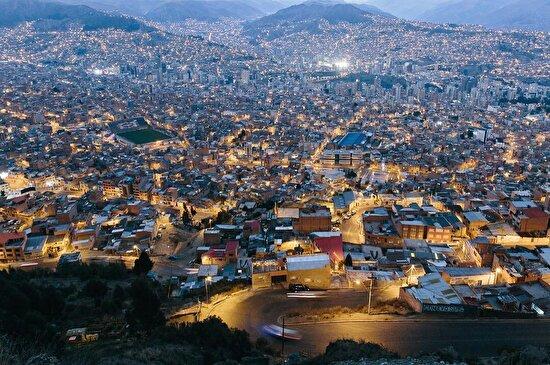 Bolivya'daki dünyanın en yüksek metropolü La Paz