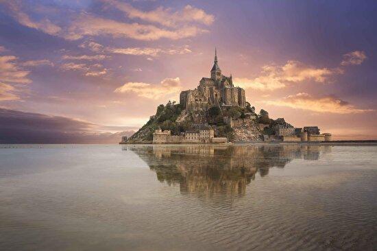 Mont Saint Michel, Normandy, Fransa