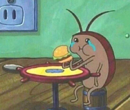 Tek başıma yemek yiyorum