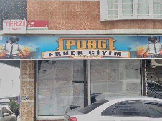 Pochinki merkez mahallesinde bir dükkan