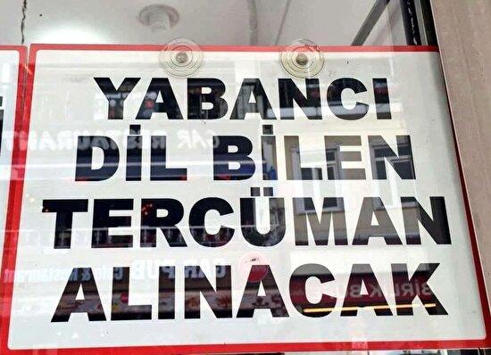 Yabancı dil bilmeyen tercüman Türkçeyi Türkçeye çeviriyor herhalde