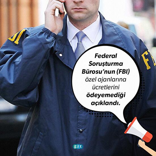 FBI'da Muhbire verecek para kalmadı