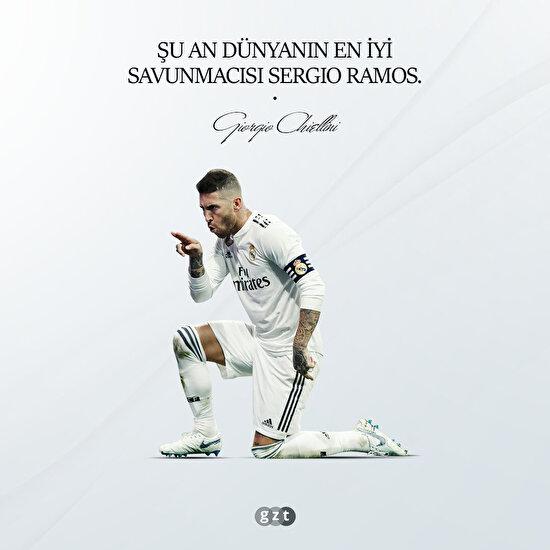 Chiellini: En iyisi Ramos
