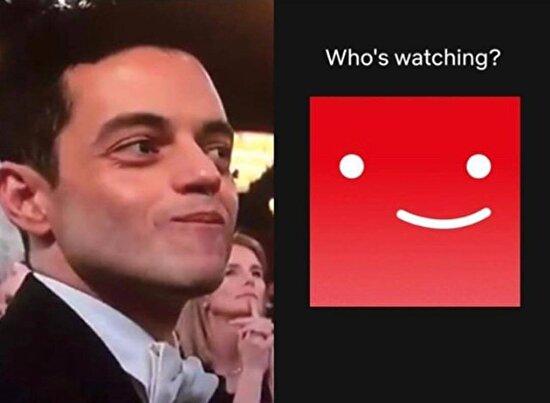 Rami Malek'ten esinlenildiğini anlamamışız