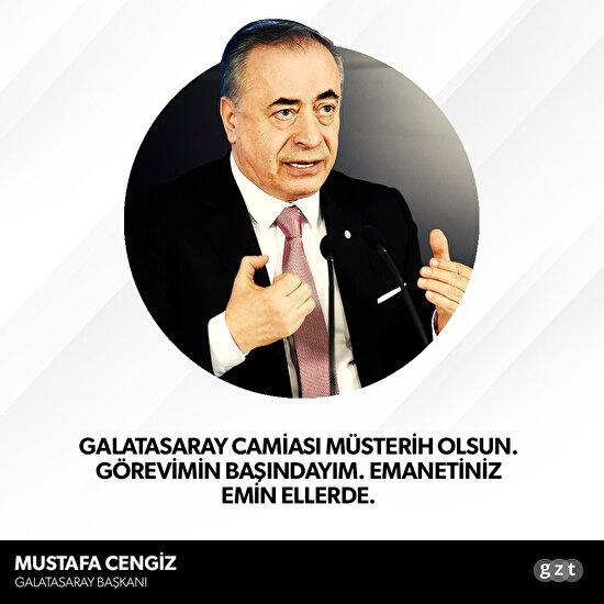 Mustafa Cengiz'den 'ibra edilmeme' açıklaması