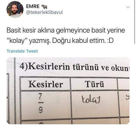 En azından Türkçesi iyi. Eş anlamlı kelimeyi bulabilmiş