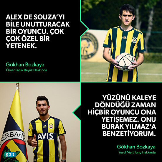 Fenerbahçe'nin umut vadeden gençleri
