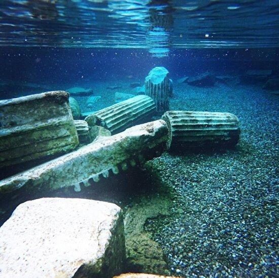 Pamukkale, Antik Havuz
