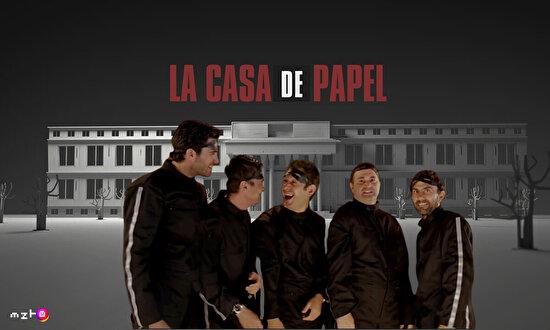 İzleyelim bakalım La Casa De Papel 3. sezon