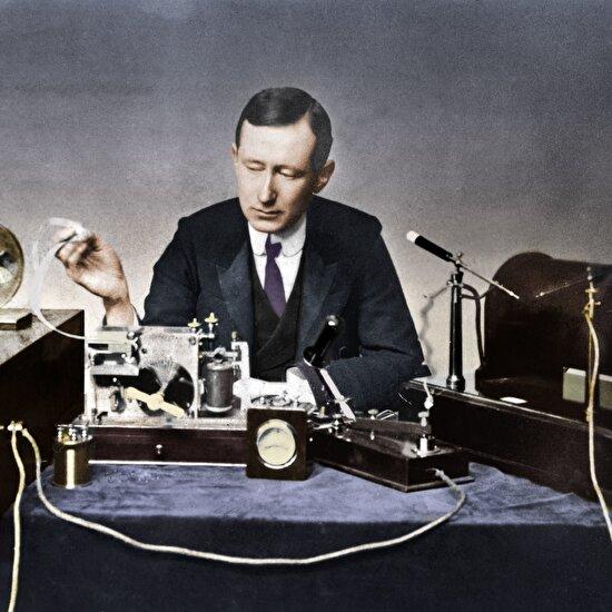 Sesi kıtaları aştı: Guglielmo Marconi