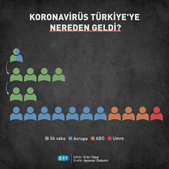 Koronavirüs Türkiye'ye nereden geldi?