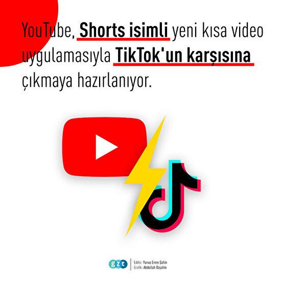 YouTube yeni kısa video uygulamasını duyurdu