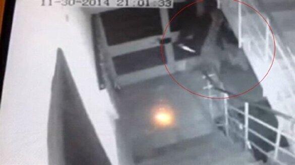 Dehşet veren kadın cinayeti kamerada
