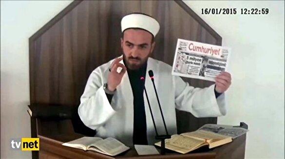 Oflu Hoca'nın Charlie Hebdo tepkisi tıklanma rekoru kırıyor