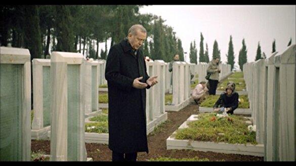 İşte Erdoğan'ın şiir okuduğu Çanakkale filmi