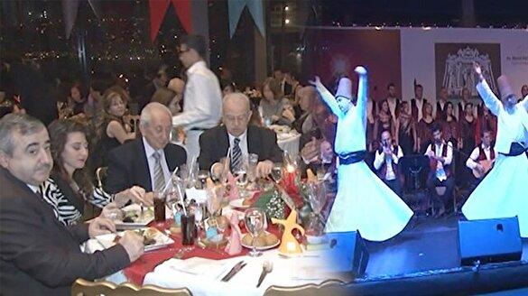 Beşiktaş belediyesi Şeb-i Arus ve Noel'i bir arada kutladı