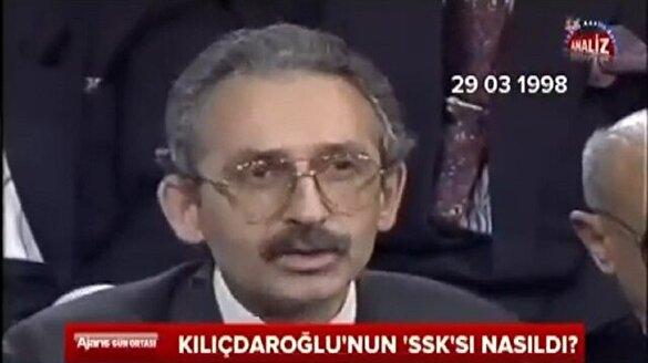 Kılıçdaroğlu'nun 'SSK'sı nasıldı?