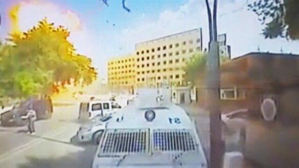 Gaziantep'teki patlama anı!