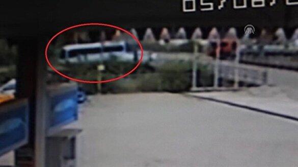 Osmaniye'de 14 öğrencinin öldüğü kaza kamerada!