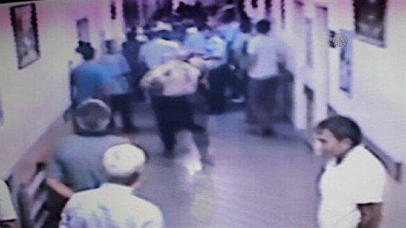 Hastanede sağlık çalışanlarına saldırı