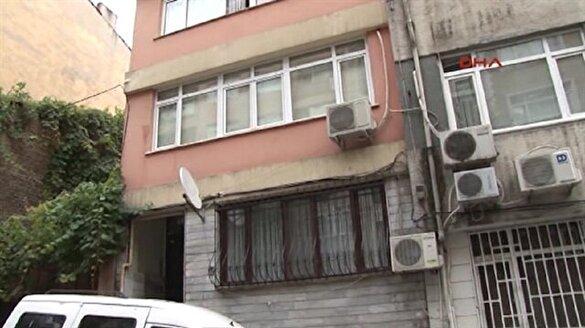 Teröristler Fatih'teki bu dairede kalmış