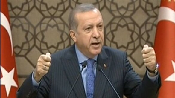 Erdoğan: Tepelerine tepelerine bineceğiz