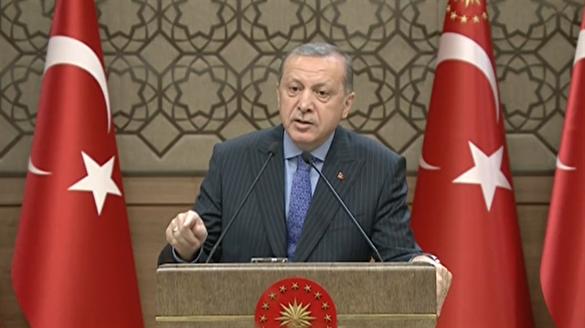 Erdoğan: Halep'teki yangını söndürmek kardeşlerimize borcumuzdur