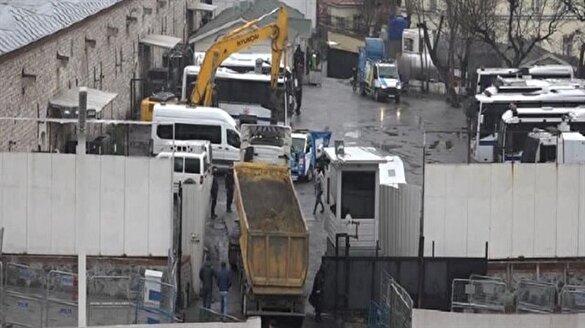 Taksim camisi için ilk kepçe vuruldu