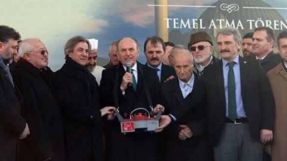 Taksim Camiinin temeli atıldı