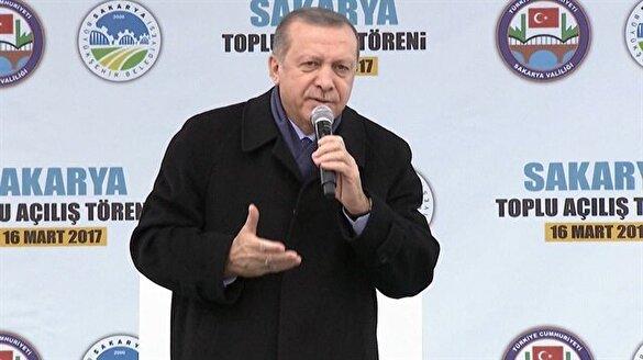Erdoğan: Ne geri kabulü, geç onları geç